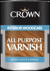 Crown Varnish Interior Woodcare