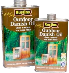 Quick Dry Outdoor Danish Oil