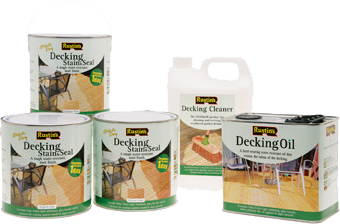 Decking Stain and Seal