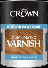 Quick Drying Varnish Crown