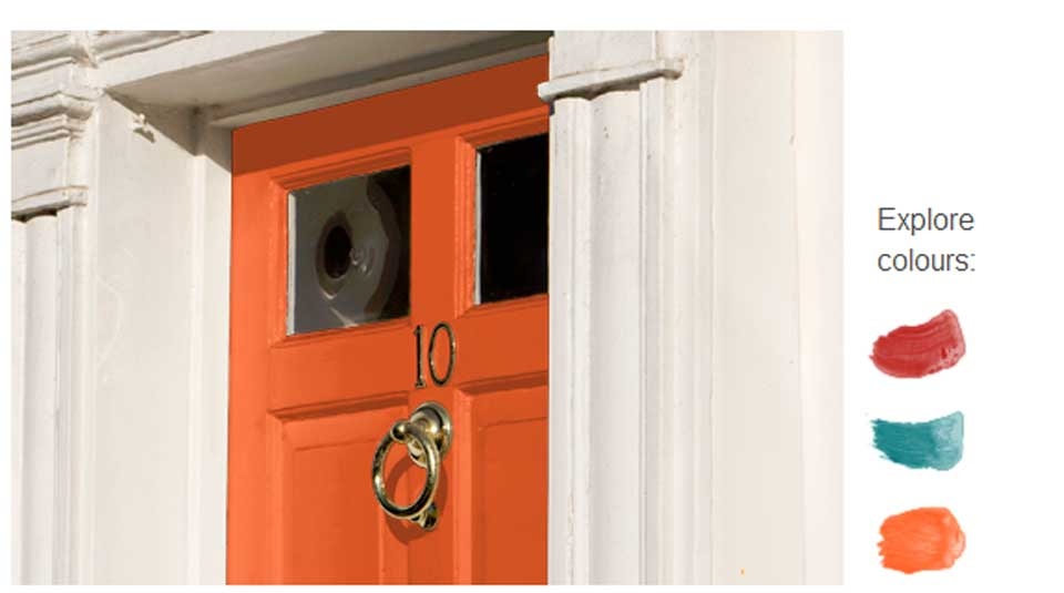 orange-doors
