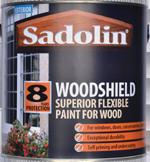 Sadolin Woodshield Superior Flexible Paint