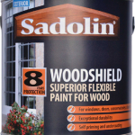 Sadolin Woodshield Superior Flexible Paint For Wood