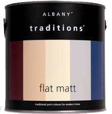 Albany Traditions Flat Matt