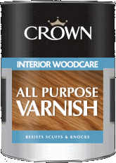 Crown Varnish Interior Woodcare