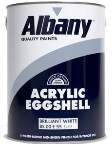 Albany Acrylic Eggshell