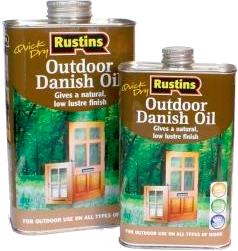 Quick Dry Outdoor Danish Oil