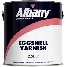 Albany Eggshell Varnish