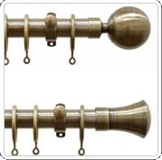 metal poles